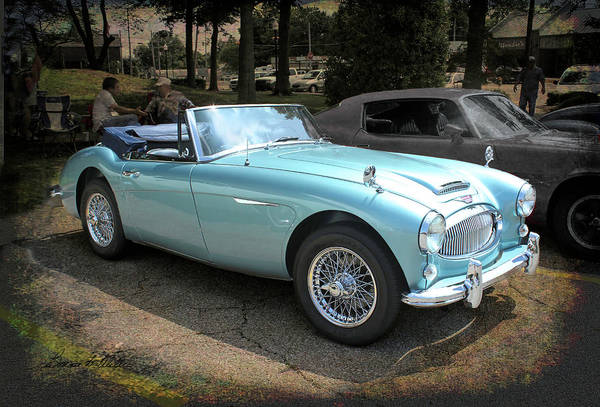 Photograph - Austin-healey 3000 by Bonnie Willis
