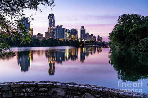 Wall Art - Photograph - Austin Lou Neff Sunrise Reflection by Bee Creek Photography - Tod and Cynthia