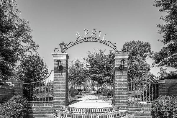 Photograph - Austin Peay State University Gate by University Icons