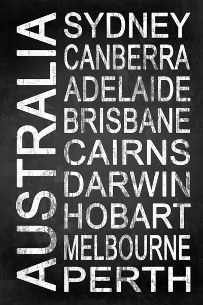 Wall Art - Digital Art - Australia 3 by Melissa Smith