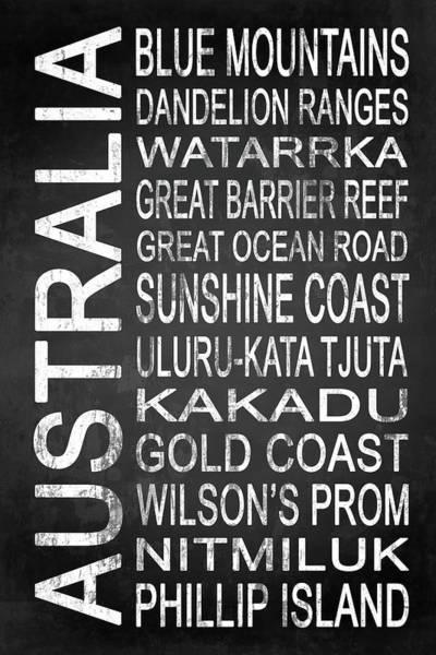 Wall Art - Digital Art - Australia 4 by Melissa Smith
