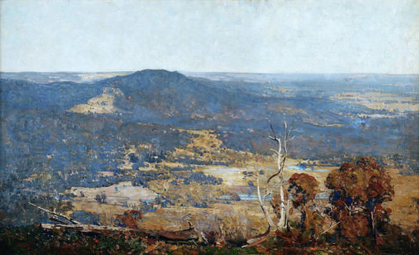 Wall Art - Painting - Australia Felix - Digital Remastered Edition by Arthur Streeton