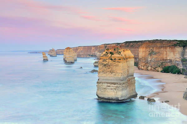 Travel Destinations Wall Art - Photograph - Australia Landscape  Great Ocean Road - by Maythee Voran