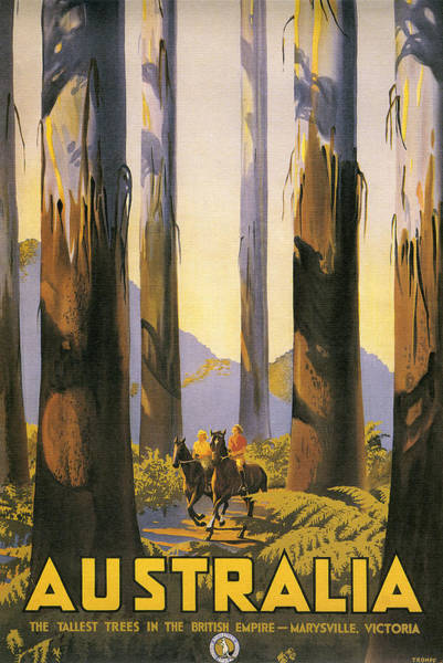 Australia Travel Poster Art Print
