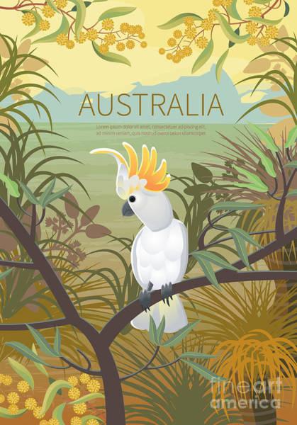 Discovering Wall Art - Digital Art - Australian Landscape  Poster.  Every by Annareichel