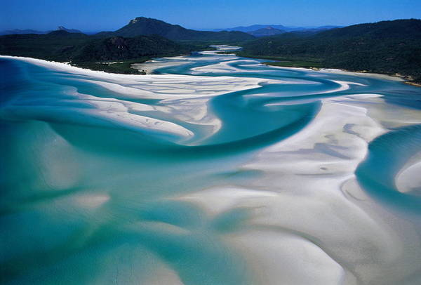 Wall Art - Photograph - Australia,whitsunday Island, Whitehaven by Martin Barraud