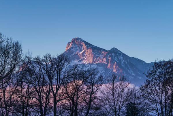 Wall Art - Photograph - Austria, Salzburg, Rainberg Mountain by Walter Bibikow