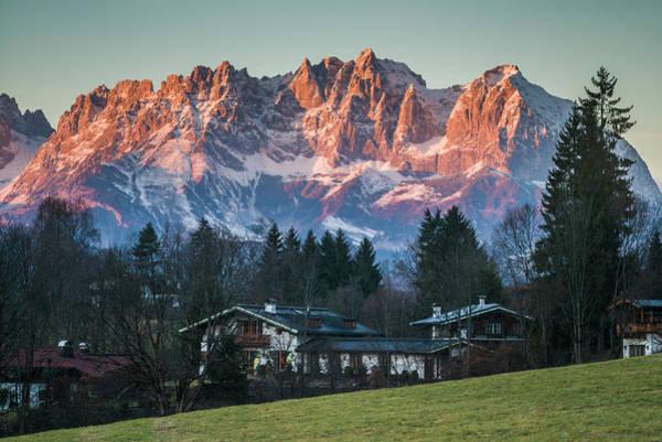 Wall Art - Photograph - Austria, Tyrol, Kitzbuhel, Kitzbuheler by Walter Bibikow