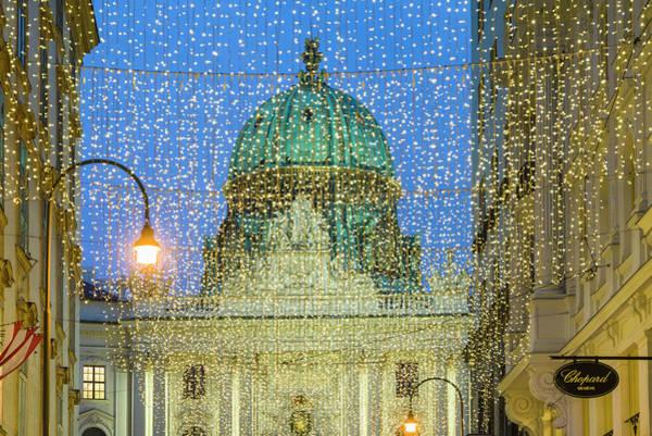 Wall Art - Photograph - Austria, Vienna, Kohlmarkt, Street by Walter Bibikow