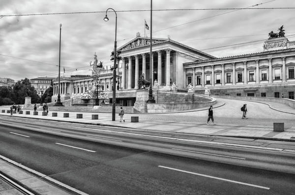 Photograph - Austrian Parliament by Borja Robles