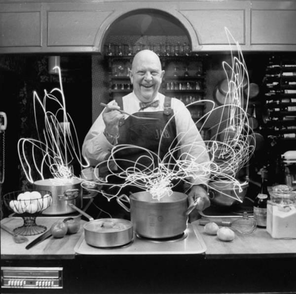 Merchandise Photograph - Author And Top Chef James A. Beard In by Arthur Schatz