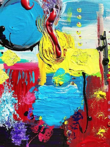 Wall Art - Painting - Autism Awareness No. 13, Sensory Seeking by Danielle Rosaria