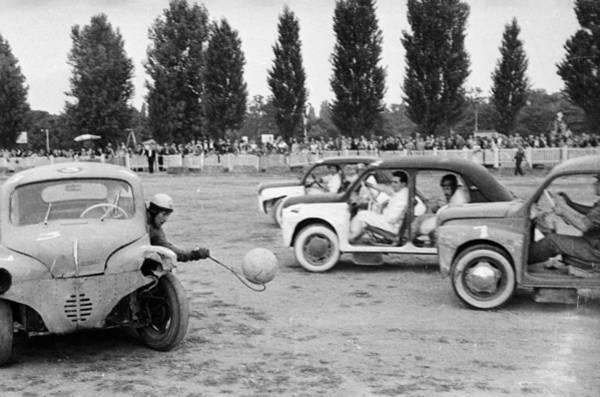 Customized Photograph - Auto-ball by P. F. Jentile