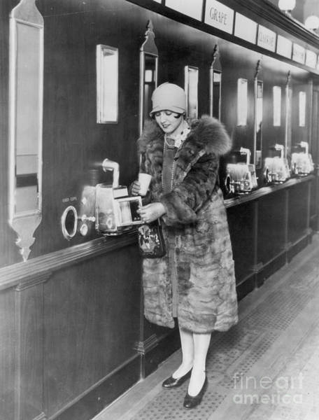 Photograph - Automat, C1925 by Granger