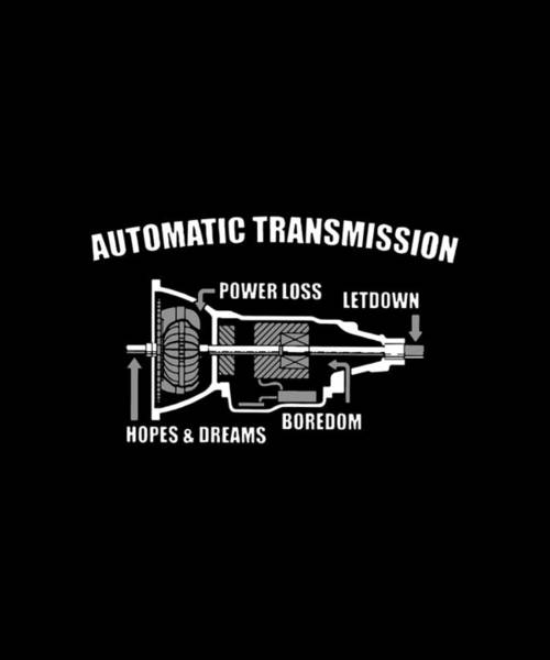 Cajal Wall Art - Digital Art - Automatic Transmission Power Loss Letdown Science by Seth Service