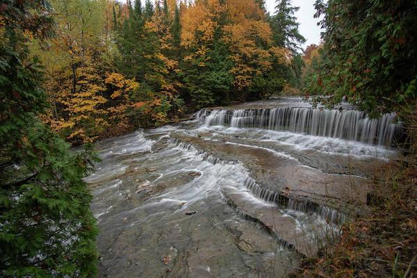 Photograph - Autrain Falls 10111801 by Rick Veldman