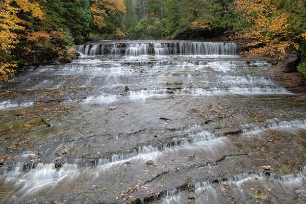 Photograph - Autrain Falls 10111802 by Rick Veldman