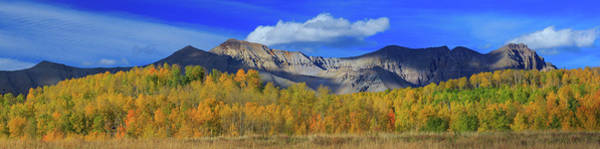 Wall Art - Photograph - Autumn Afternoon Below The Sneffels Range by Bridget Calip