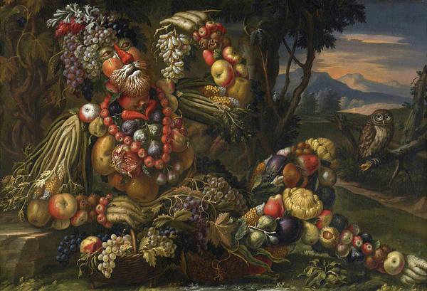 Fertility Painting - Autumn by Antonio Rasio
