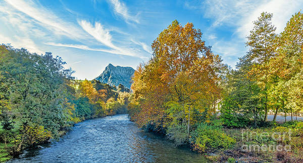 Wall Art - Photograph - Autumn Ason River by Cpg-photo