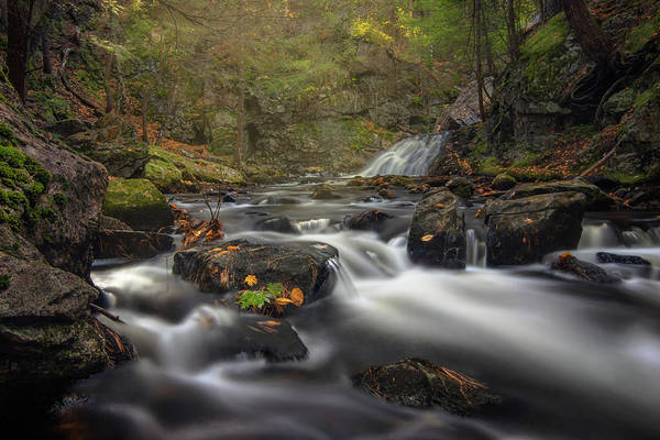 Photograph - Autumn At Bear's Den Falls by Kristen Wilkinson