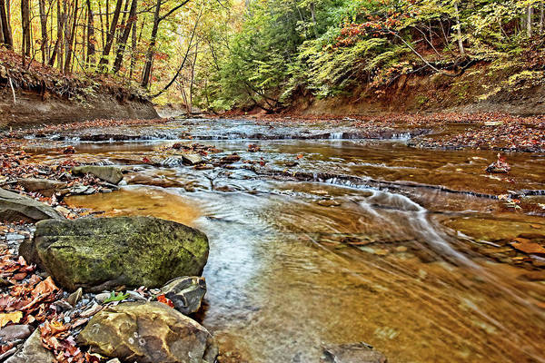 Wall Art - Photograph - Autumn At Brandywine Creek by Marcia Colelli
