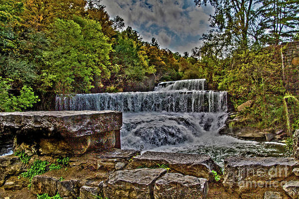 Photograph - Autumn At Cascade Mills by William Norton
