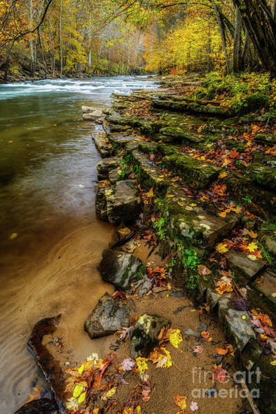 Photograph - Autumn At Cherry Falls Elk River by Thomas R Fletcher