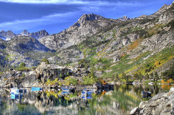 Wall Art - Photograph - Autumn At Lake Sabrina by Donna Kennedy