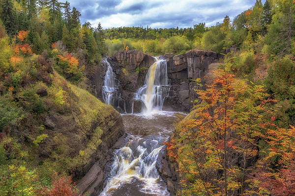 Photograph - Autumn At Pigeon Falls by Susan Rissi Tregoning