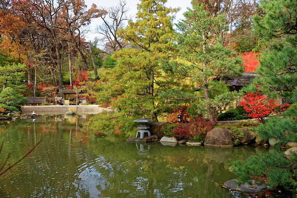Photograph - Autumn At The Gardens by Peter Ponzio