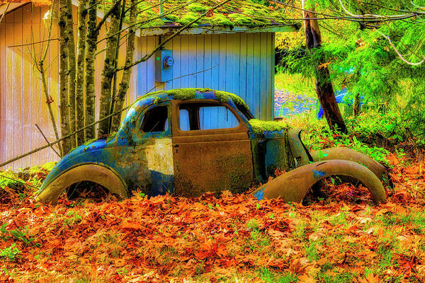 Wall Art - Photograph - Autumn Auto by Garry Gay