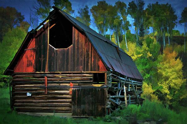 Wall Art - Photograph - Autumn Barn by Mike Flynn