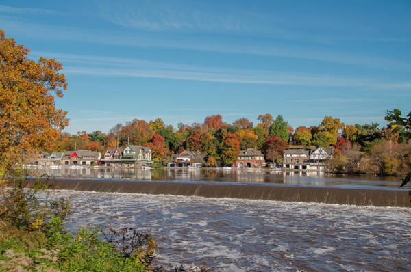 Photograph - Autumn Beauty - Boathouse Row by Bill Cannon