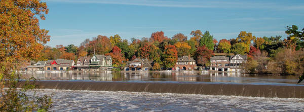 Photograph - Autumn Beauty - Boathouse Row Panorama by Bill Cannon