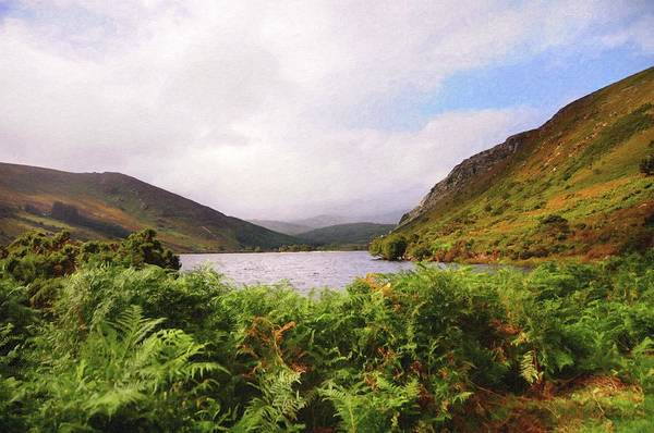 Photograph - Autumn Beauty Of Lough Tay. Wicklow Mountains by Jenny Rainbow