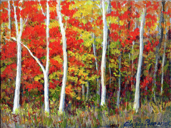 Painting - Autumn Color by Alexis Baranek