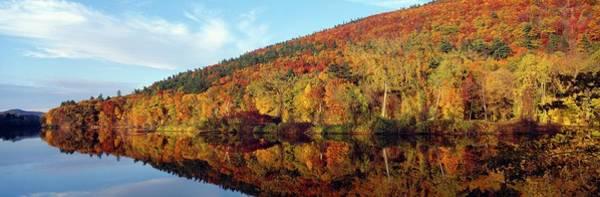 New England Autumn Photograph - Autumn Colors Along Connecticut River by Visionsofamerica/joe Sohm