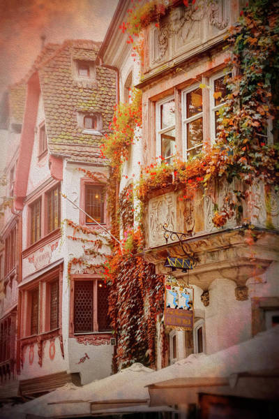 Alsace Wall Art - Photograph - Autumn Colors In Strasbourg France by Carol Japp