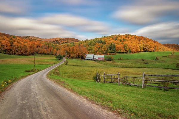 Photograph - Autumn Day At Jenne Farm by Kristen Wilkinson