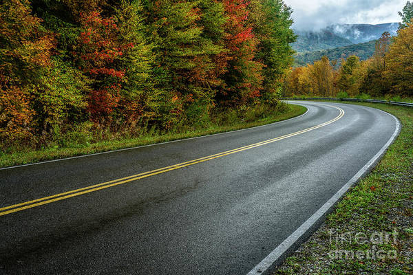 Photograph - Autumn Drive Highland Scenic Highway by Thomas R Fletcher