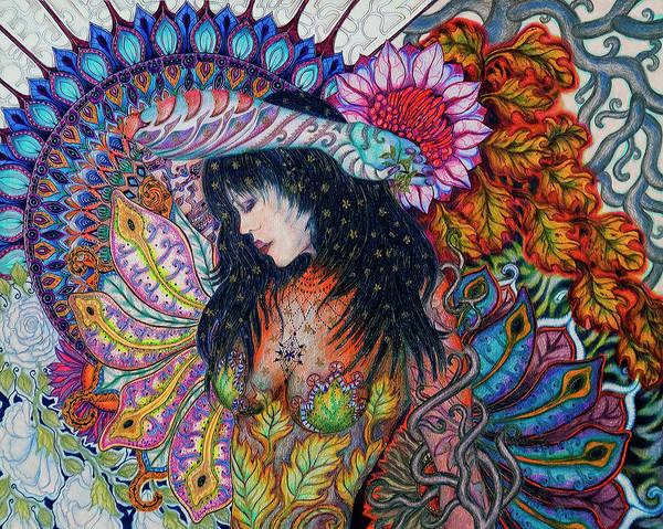Mixed Media - Autumn by Ellie Perla