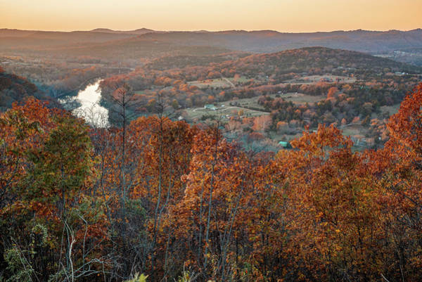 Photograph - Autumn Glory At Inspiration Point - Eureka Springs Arkansas by Gregory Ballos