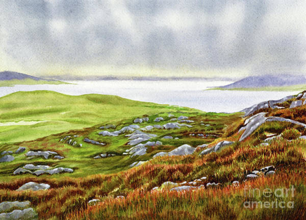 Wall Art - Painting - Autumn Hues, Northwest Scotland by Sharon Freeman