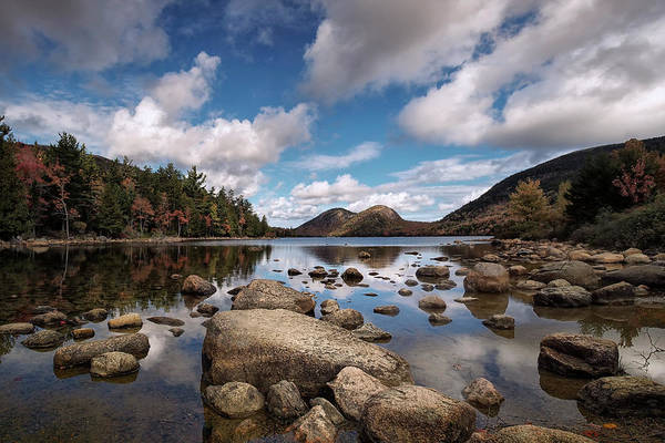 Wall Art - Photograph - Autumn In Acadia by Robert Fawcett