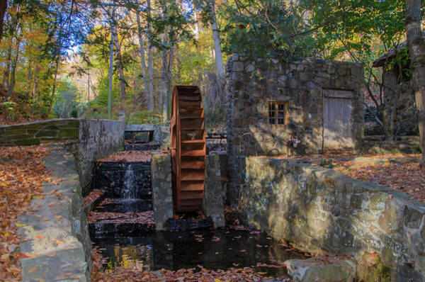 Wall Art - Photograph - Autumn In Bala Cynwyd - Rose Glen Mill by Bill Cannon