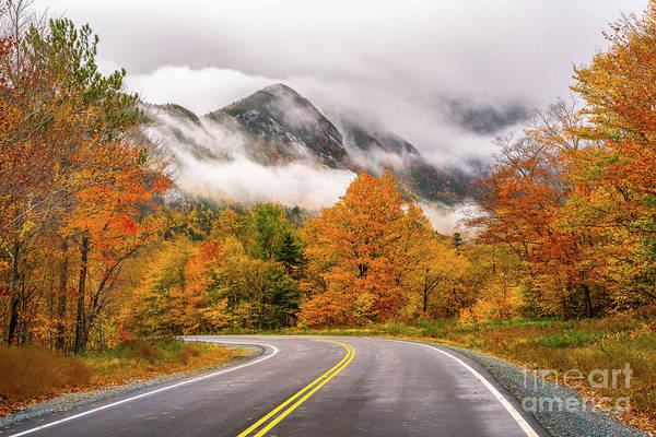 Wall Art - Photograph - Autumn In Franconia Notch by Benjamin Williamson