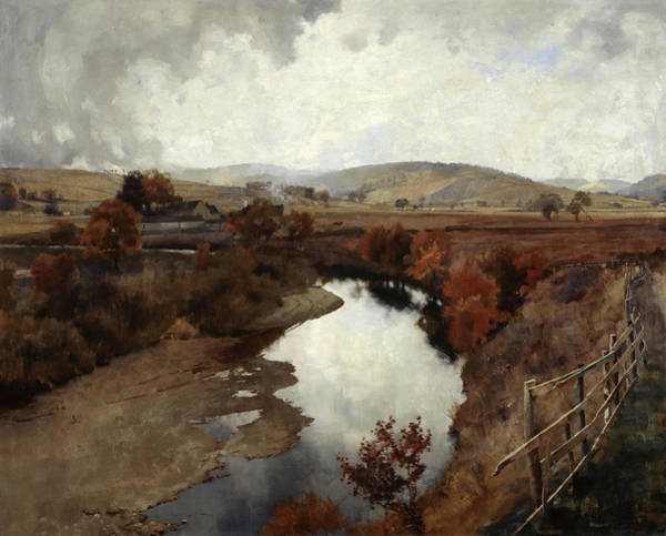 Wall Art - Painting - Autumn In Glencairn, Moniaive by James Paterson