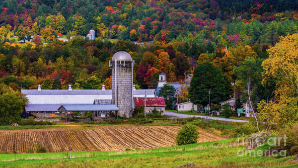 Photograph - Autumn In Montgomery by Scenic Vermont Photography
