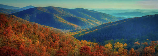 Wall Art - Photograph - Autumn In The Shenandoah Valley by N P S Neal Lewis